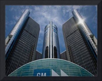 Renaissance Center (in color)