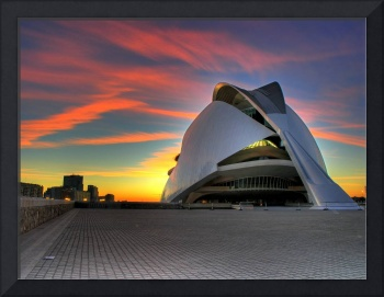The Valencia's Opera House at dawn II