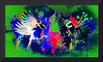 Abstract Bird Art 21