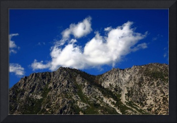Mountainside near Lake Tahoe