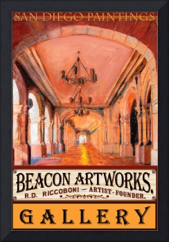 Beacon Artworks Poster San Diego Paintings