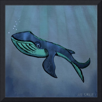 Under Water Whale Painting