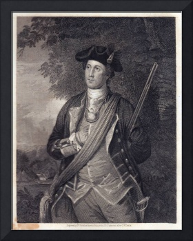 Vintage George Washington Portrait