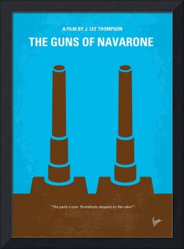 No168 My The Guns of Navarone minimal movie poster