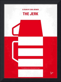 No350 My The Jerk minimal movie poster