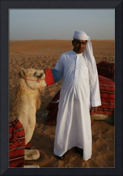 Man With Camels