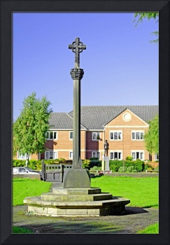Tall Cross in St Mary's Churchyard, Stretton (2669