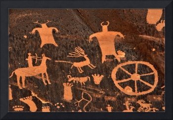 Ancient Indian Petroglyph - Utah