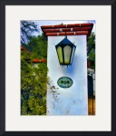 Outside Lamp Alamos #1 by John Corney