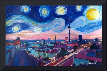 Starry Night in Berlin - Van Gogh Inspirations