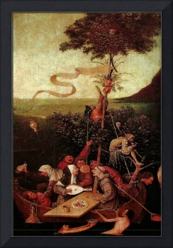 Hieronymus Bosch 1504 A ship of fools - PD Image