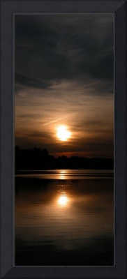 Bird Sanctuary Vertical Sunset