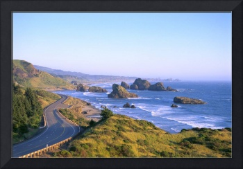 Oregon Coast, Highway 101 And Pistol River State P