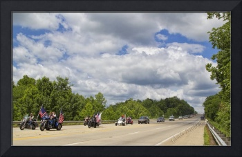 Patriot Guard Riders for Sgt. Justin Helton