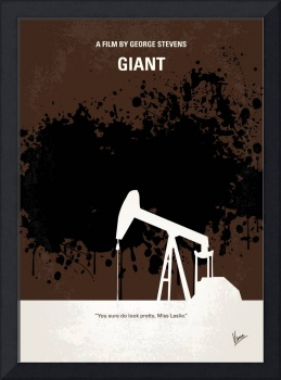No102 My GIANT minimal movie poster