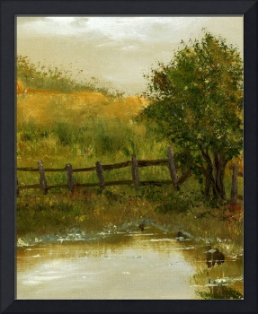 Landscape with Small Pond