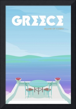 Travel Poster of Greece 121