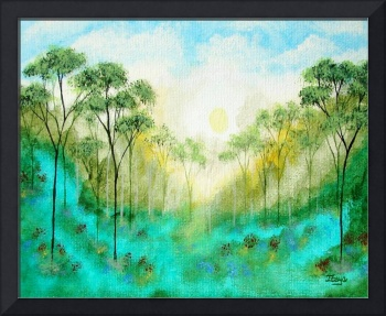 Serenity From Original Painting