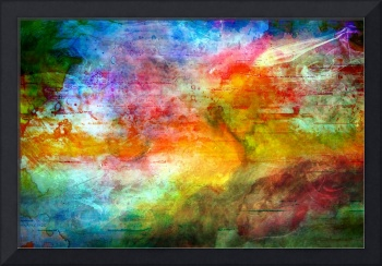 5a Abstract Expressionism Digital Painting