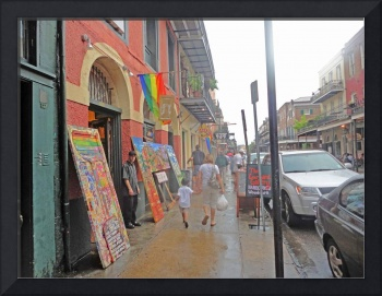Rainy Day in New Orleans