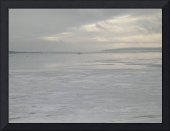 Winter Solitude, Bristol Harbor