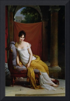Portrait of Madame Recamier by Gerard