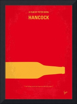 No129 My HANCOCK minimal movie poster