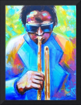 Miles Davis Portrait-Cool Jazz