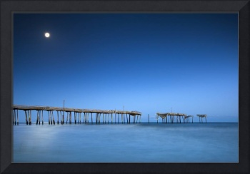 Frisco Pier Cape Hatteras Outer Banks NC - Crossin