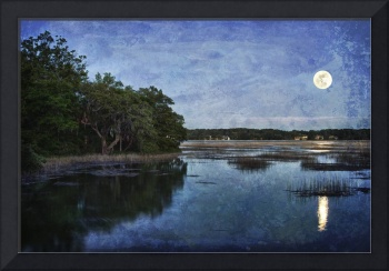 Lowcountry Moonrise by Jim Crotty