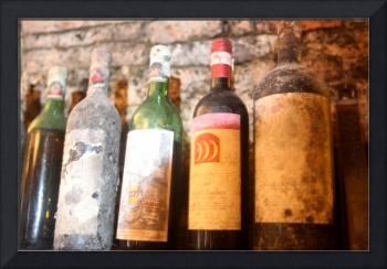 Tuscan Wine Bottles