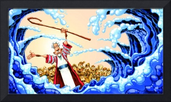 a Moses Red Sea