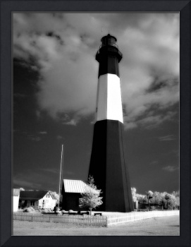 Infrared Tybee Lighthouse