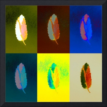 Sequence of Peaceful Leaves - Green & More