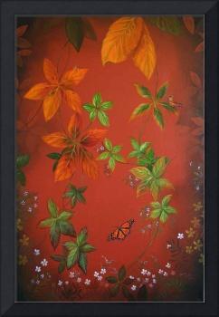 Autumn Leaves - Right Canvas