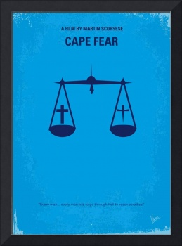 No014 My Cape Fear minimal movie poster