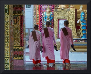 The Female Monks of Mandalay