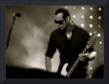 Robert DeLeo of Stone Temple Pilots / STP B&W