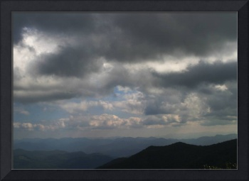 Blue Ridge Parkway Summer Storm