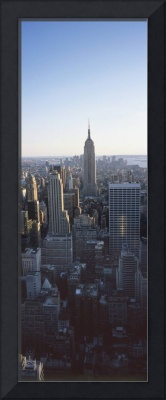 Panoramic View Of Empire State Building New York