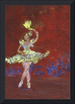 BALLERINA AT THE THEATRE by Marie L.