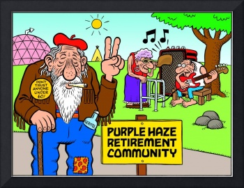 Purple Haze Retirement Community