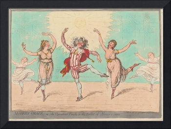 James Gillray~Modern Grace