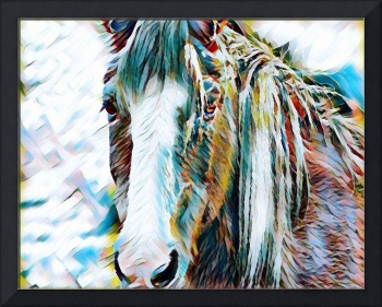 Horse Animal Art Print 7 - Rogue Art Prints