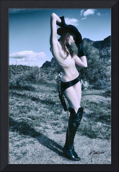 2957 Cowgirl Cate Six Shooter Domme - Editorial Fa