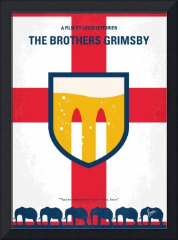 No741 My Grimsby minimal movie poster