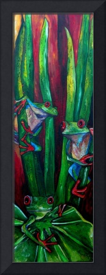 Trinity of Frogs