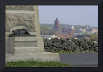 1DH422 Civil War Monument at Gettysburg
