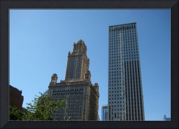 Skyscrapers - Old and Modern Buildings