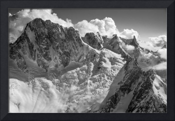 In the Mont Blanc Massif